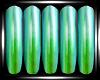Lite Green Nails
