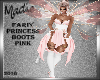 FairyPrincess Boots Pink