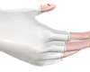 B! pvc white gloves <3