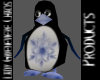 Holiday Penguin Blue