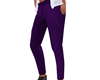 Purple Formal Pants