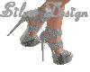 SW Grey Christmas Heels