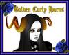 Golden Curly Horns