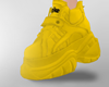 Chunky Shoes Yellow