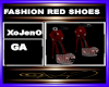 FASHION RED SHOES