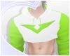 Green Paladin Crop-Hood