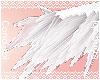 Arm Feathers |White