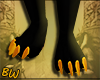 Egyptian Anubis Feets