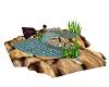 indoor/outdoor pond