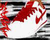 Cortez White &red