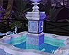 LA Pool House Fountain