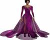 Purple Smoke TT Gown