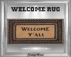 Rustic Welcome Rug
