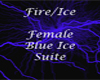 Blue Ice Female - Hands