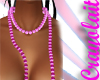 *C* Pink Necklace