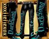 [L] DarkSong Teal Pants