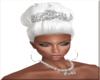 Bride Hair W/Crown 5