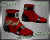 !b Xmas Boots Red M