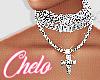 ●C●  Silver Necklace