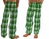 Pajama Pants Green
