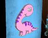 Bronto Dino 3D Art