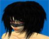 Black Funky Hair M