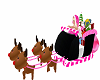 little pink sleigh