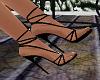 Black String Shoes