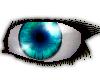 Blue Green Glass Eyes