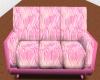 Pink Heart Sofa