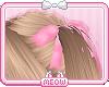 ♛Pink Hair Bows