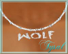 ~T~Wolf Necklace [M]
