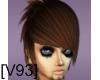 [V93] BROWN OSAKAMI HAIR