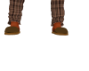 Brown Male Slippers
