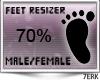 77 Feet Scaler 70%