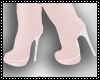 Pink White Boots
