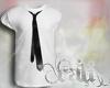 [CC] White Tee W Tie