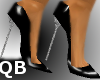 Q~Black Extreme Heels