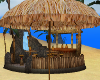 Tiki Hut Beach Umbrella