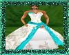 Crystal wedding Turquois