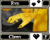 Ryn Paw Claws F