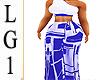 LG1 Blue & White Bmxxl