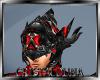 Black red elfe helmet MF
