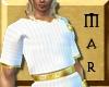 ~Mar Greek Tunic M White