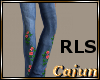 Flower Power Jeans RLS