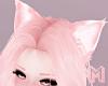 🅜 NEKO: ears cat pink