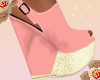 {L4} peach wedge