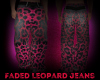 Faded Leopard Jeans