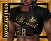 [L] Royal Gold Top M
