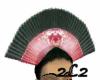 Geisha Head Fan